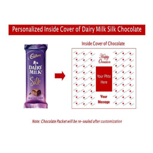 Dairy milk personalised paper