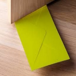 Envelope Door Stopper