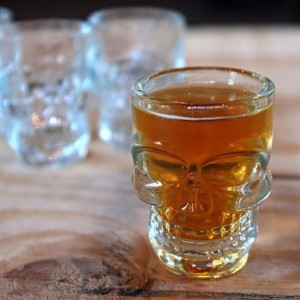 Skull Head Shot Glass - Set of 4